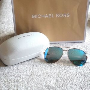 Michael Kors Rodinara Aviator Sunglasses